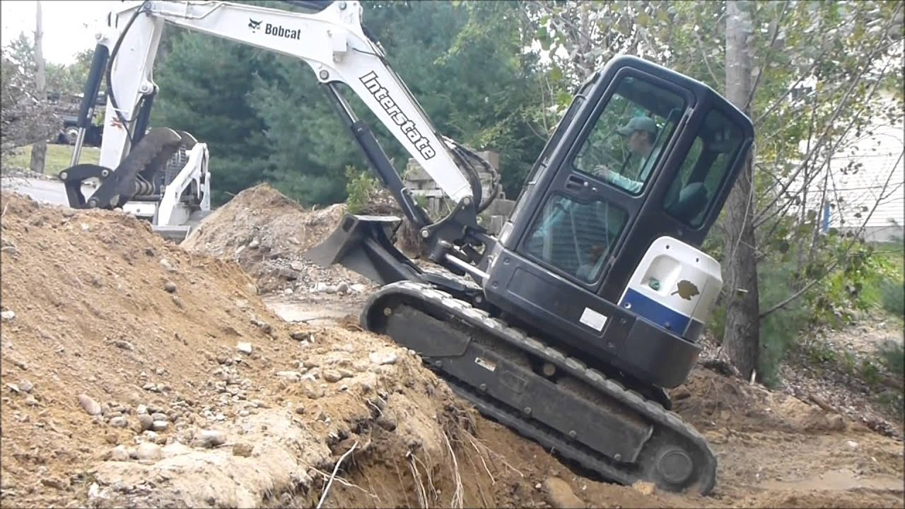 Mini Excavator - No Room for Error