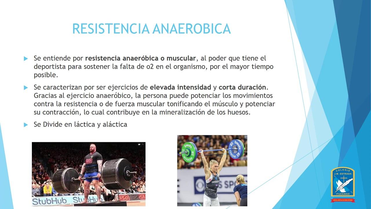 ejercicios resistencia aeróbica y anaeróbica