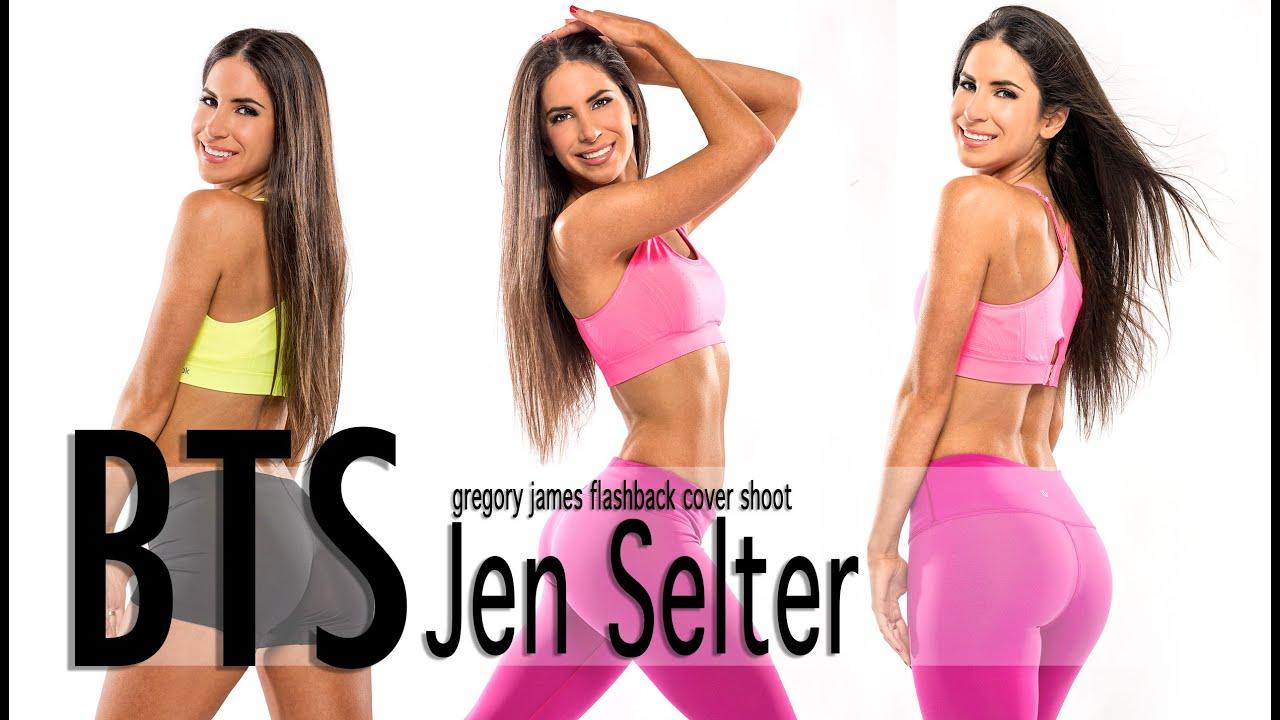 Gregory James BTS Fitness | Jen Selter Cover Shoot for InShape Magazine