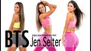 Gregory James BTS Fitness | Jen Selter Cover Shoot for InShape Magazine