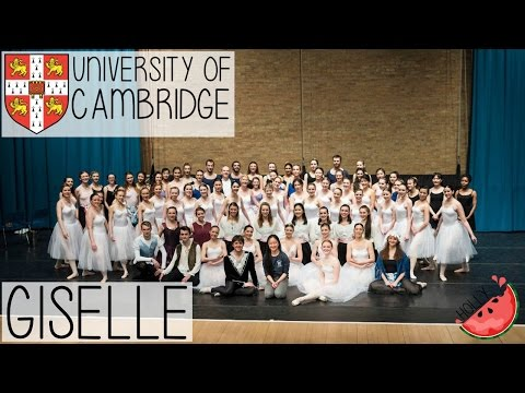 CAMBRIDGE UNI BALLET CLUB PRESENTS GISELLE | BACKSTAGE, MEET THE CAST + WHAT I EAT AS A VEGAN DANCER