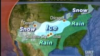 Mike Seidel  Cbs The Early Show  Kansas City Ice Storm  12-11-2007