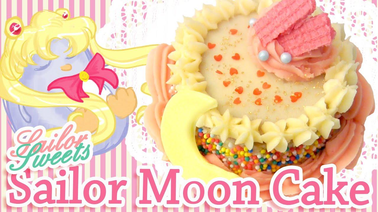 How To Make A Sailor Moon Cake