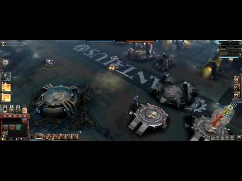 Warhammer 40000 Dawn of War III | Space Marines | Hail Mary Win |