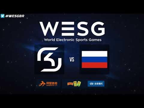 WESG 2017 World Finals - SK Gaming vs. Russia (Overpass) - Narração PT-BR