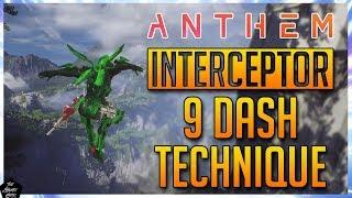 ANTHEM: SUPER ADVANCED INTERCEPTOR TECHNIQUE! INTERCEPTOR MOVEMENT!