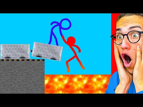 Reacting To AMAZING STICK FIGHT ANIMATIONS!