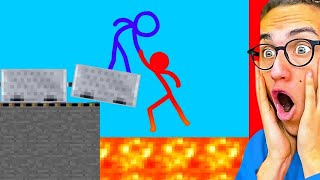 Download Reacting To AMAZING STICK FIGHT ANIMATIONS! Mp3 and Videos