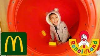 VLOG - Aire de Jeux Ronald Land - Fun indoor McDonald