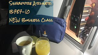 ???????? B787-10 ??????? Singapore Airlines NEW Business Class