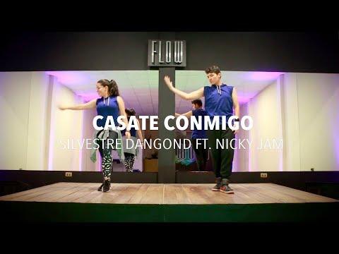 Cásate Conmigo  -Nicky Jam Y Silvestre Dangond - Zumba - Flow Dance Fitness