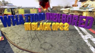 WHAT TO DO IN BLACK OPS 2 WHEN BORED