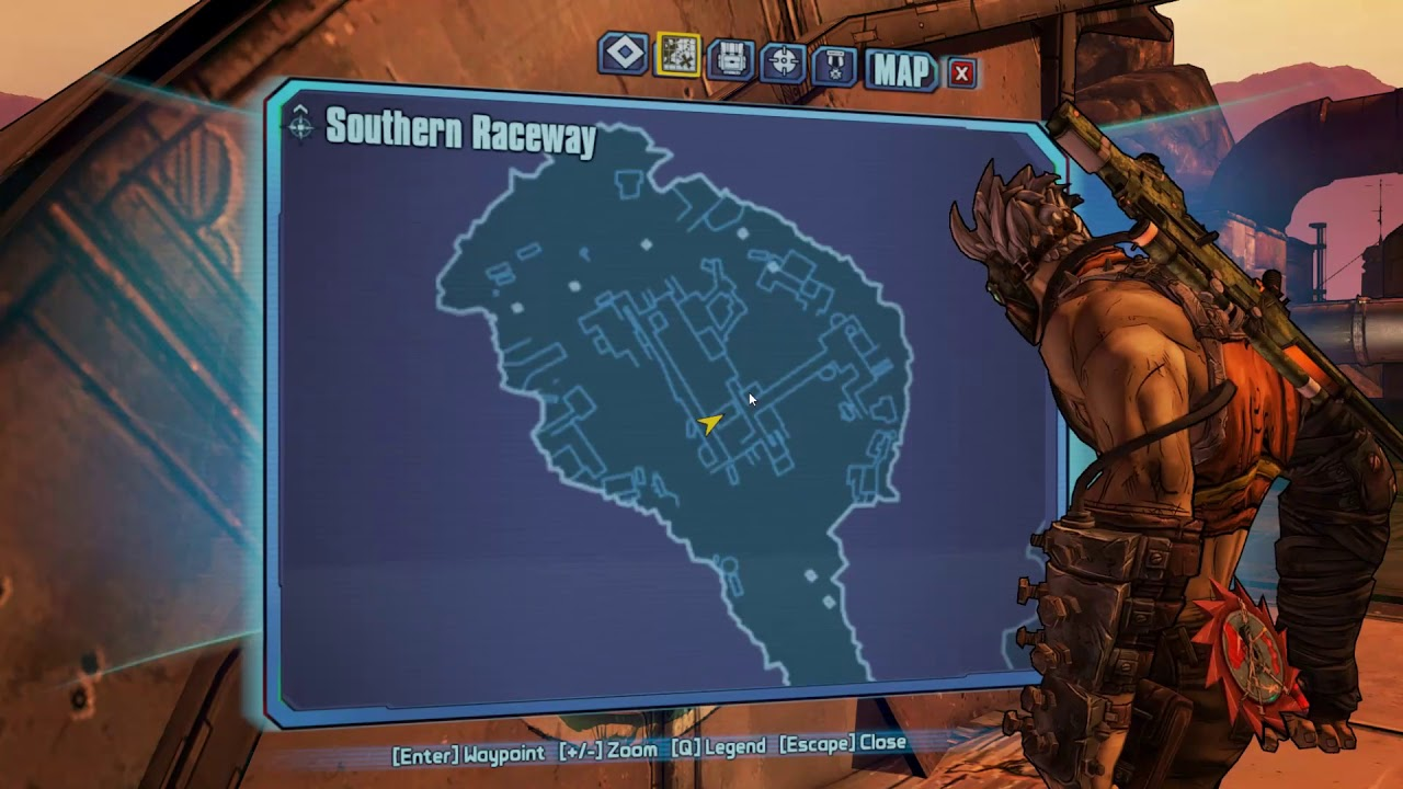 Borderlands 2 Cult Of The Vault Southern Raceway Youtube