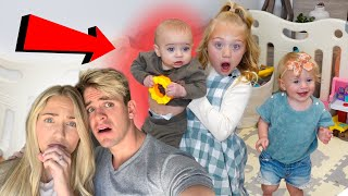 This Is How Everleigh and Posie's Official Baby Brother Training Went...