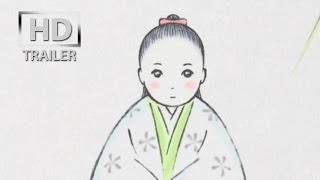 official trailer for The Tale of Princess Kaguya - Kaguyahime no mo...