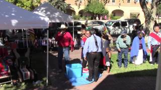 Gourd Dance Honoring Veteran Bernard Duran - Part 3 - Old Town Albuquerque, NM