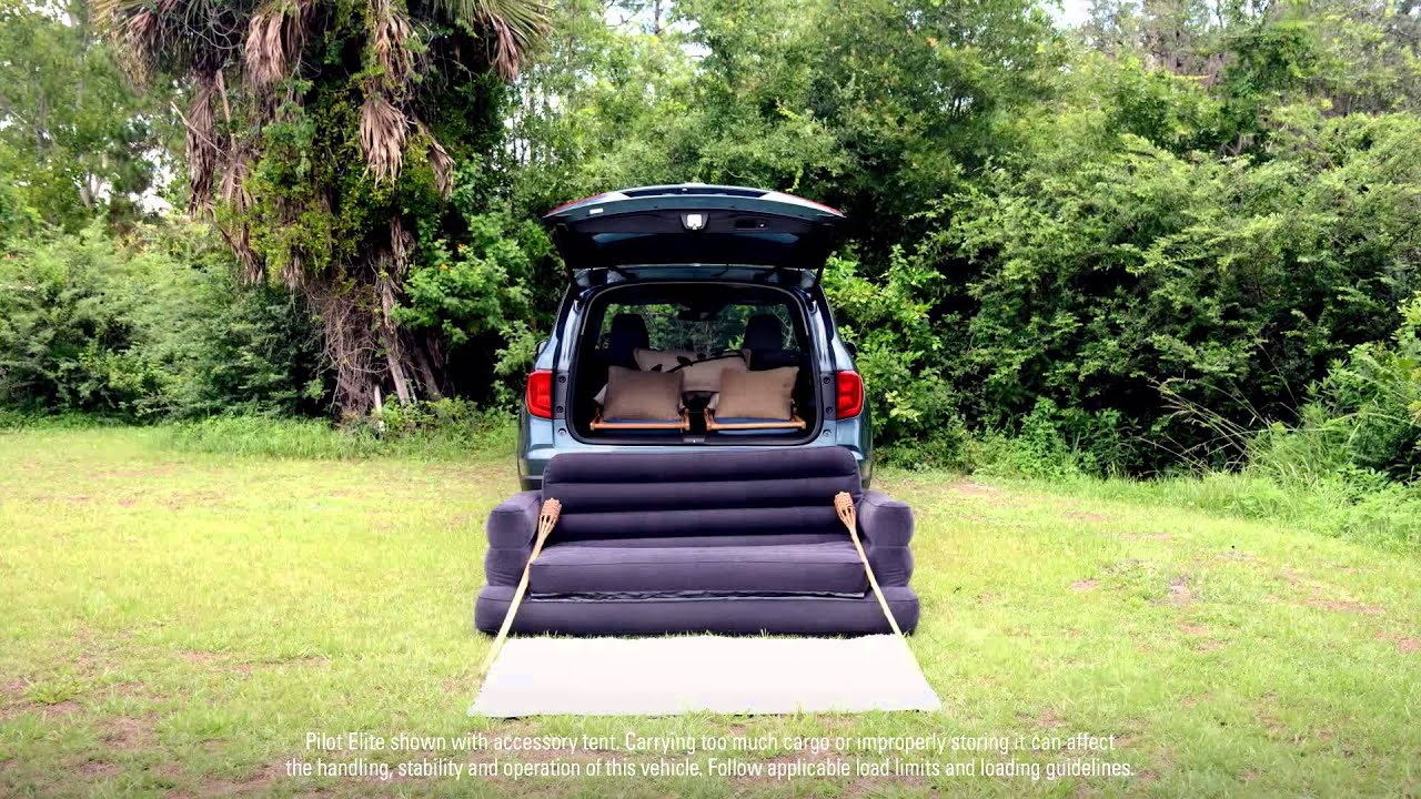 2016 Honda Pilot Goes Gl&ing | How to Set Up your Gl&ground - YouTube & 2016 Honda Pilot Goes Glamping | How to Set Up your Glampground ...