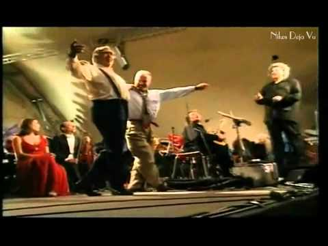 Nikos Deja Vu - Mikis Theodorakis _ Anthony Quinn - Their last meeting (2000) - YouTube