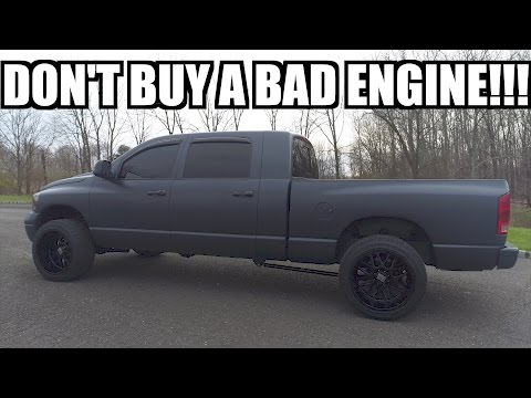 MAKE SURE YOU CHECK THIS!!! BUYING A DIESEL 101