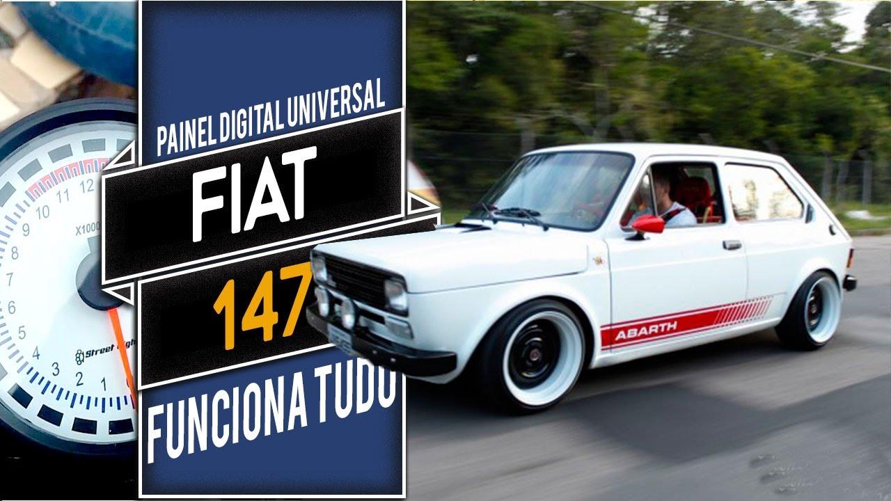 Fiat 147 Top Com Painel Digital De Gilvan Farkas Youtube