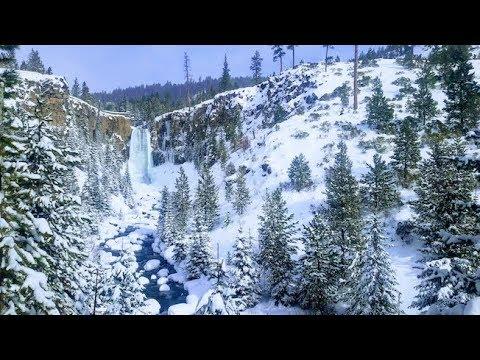 Tumalo Falls Snow