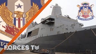 On Board USS New York: The Ship Carrying The Memories Of 9/11   Forces TV