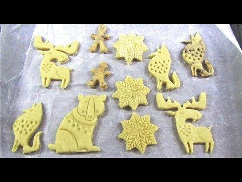 Простой рецепт печенья / формочки IKEA / Готовит сама в 2 года / Sweet Cake / Christmas Cake