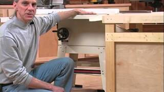 Table Saw Outfeed table/Bench Combo - WOOD magazine