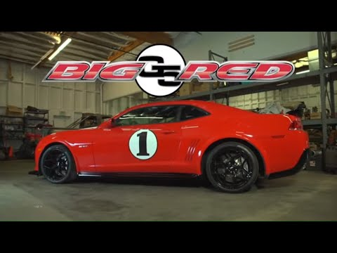 Forgeline GX3R Wheels for the Big Red Edition Z/28 Camaro