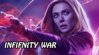 AVENGERS:INFINITY WAR Actress Elizabeth Olsen Reveals How The Film's Cast Found Out About The Ending
