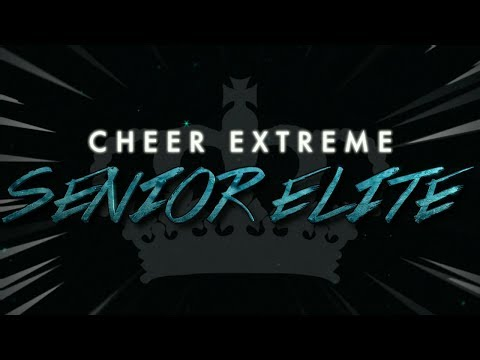 Cheer Extreme Senior Elite 2017-18