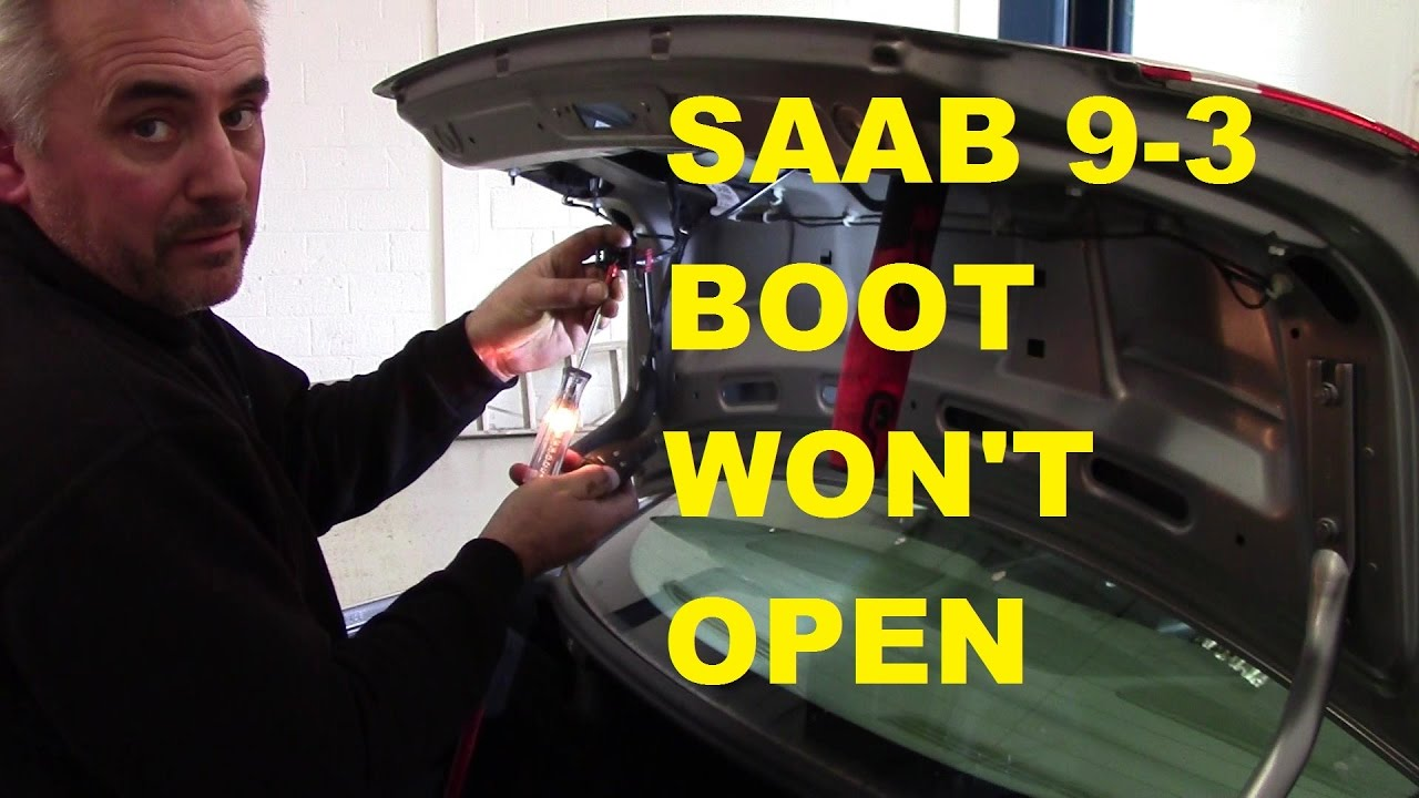 saab 9 3 boot fuse box saab 9 3 boot  trunk  won t open youtube  saab 9 3 boot  trunk  won t open youtube