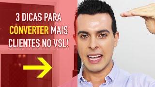 3 Dicas Para Aumentar A Conversão Do Seu Vídeo De Vendas | Tiago Bastos