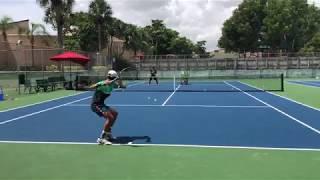 Professional Tennis Training with coach  Dabul (Federer, Nadal, Djokovic, Murray, Halep, Williams)