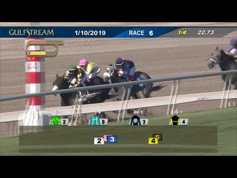 Gulfstream Park January 10, 2019 Race 6
