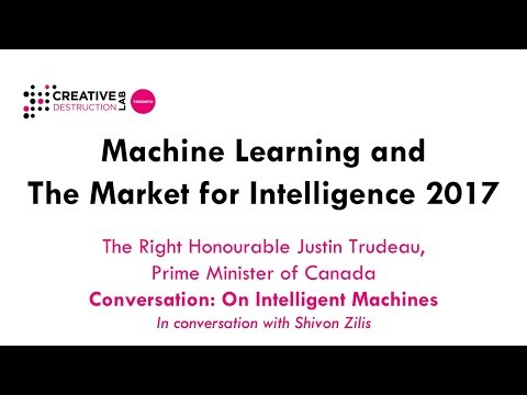 Justin Trudeau (Prime Minister of Canada) in conversation with Shivon Zilis (Bloomberg Beta)
