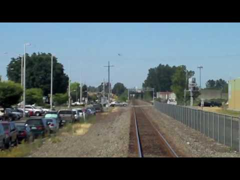 Sounder Train - Tacoma to Seattle (Timelapse)