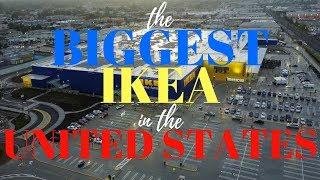 THE BIGGEST IKEA IN THE U.S.