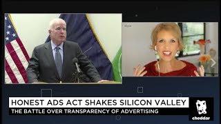 Facebook, Google, Twitter Political Ad Accountability & Transparency - Mari Smith on Cheddar TV