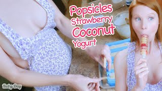 Coconut Yogurt Strawberry Popsicles Recipe Preview | Vegan Treats