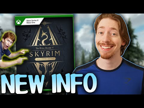 Skyrim Anniversary Edition Is BIGGER Than Expected - New DLC Update, PC Info, & MORE!