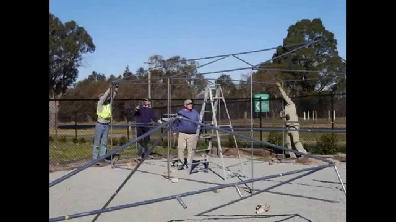 Shade House Construction Youtube