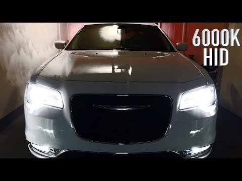 2018 Chrysler 300: 6000k HID Kit Install