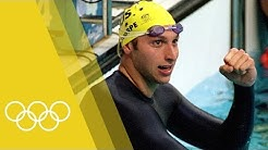 Ian Thorpe wins Men's 400m freestyle final   Sydney 2000