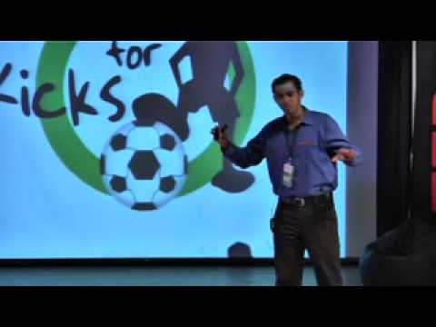 Just for Kicks: Arhan Bezbora at TEDxSIBMPune