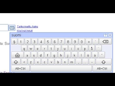 Cách lấy bàn phím ảo trong Windows 7