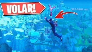 TIP How to Fly WHEN YOU WANT IN Fortnite! FLY IN FORTNITE! Glitch or Bug