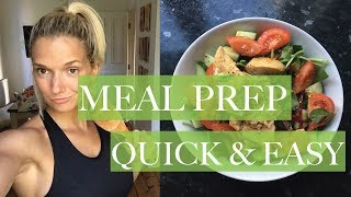 One Day EASY MEAL PREP - Recipes & Fish Failure 🐟