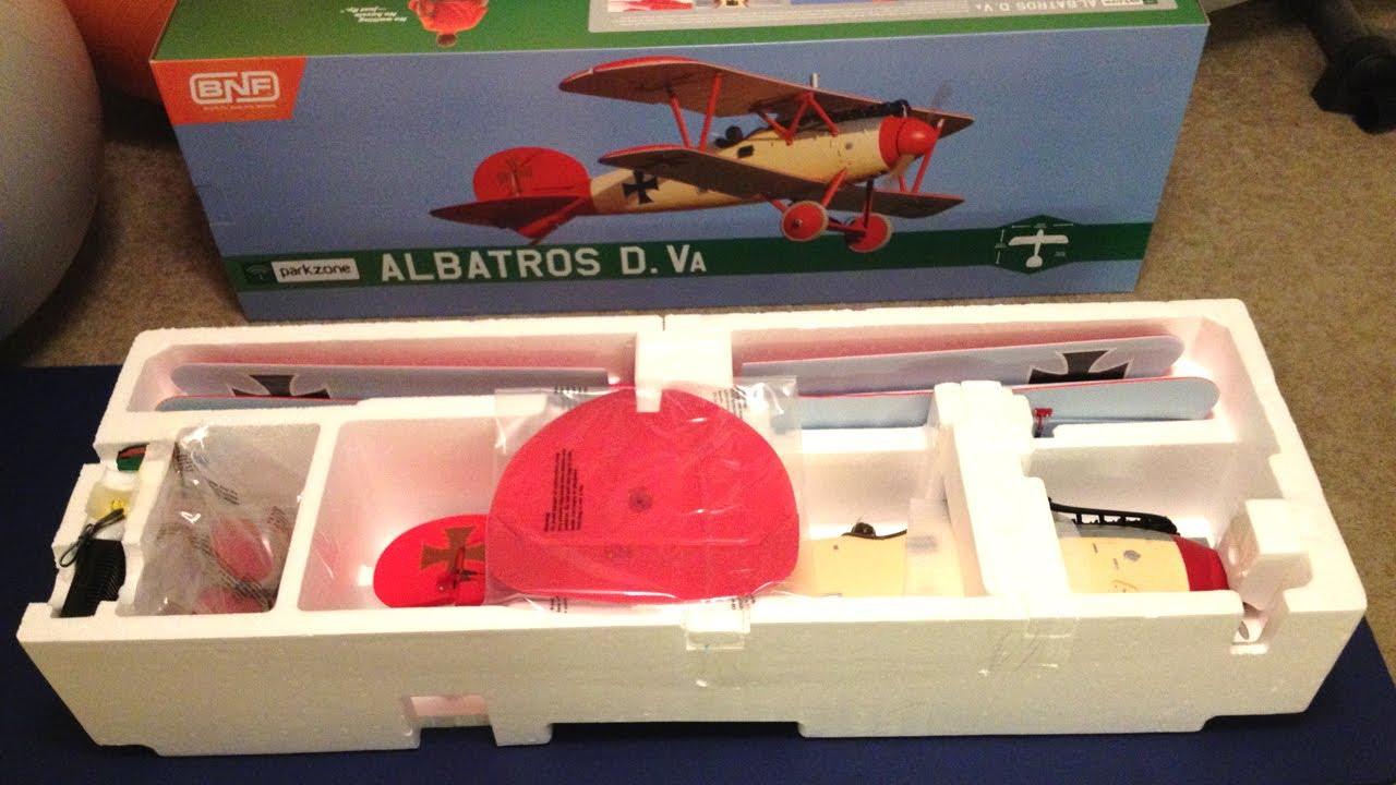 Parkzone Albatros D Va WWI Warbird BNF Airplane Review and Maiden Flight