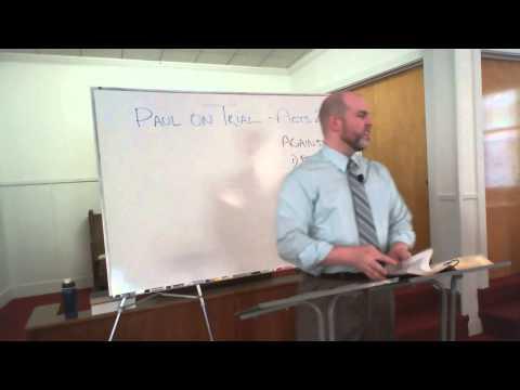 Paul On Trial – Paul's Public Defense